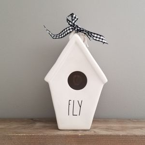 NEW Rae Dunn FLY Birdhouse